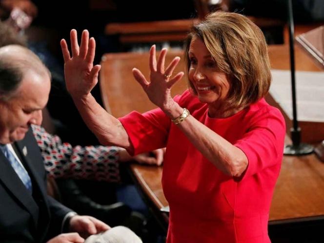 Nancy Pelosi nueva presidenta de la Cámara Baja de EEUU