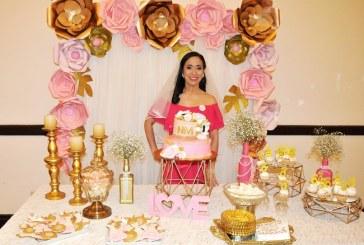 Un bridal shower en rosa para Nevia Alejandra