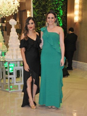 Paola Gonzáles y Andrea Araujo