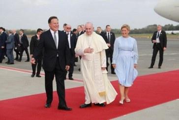 El papa Francisco ya está en Panamá