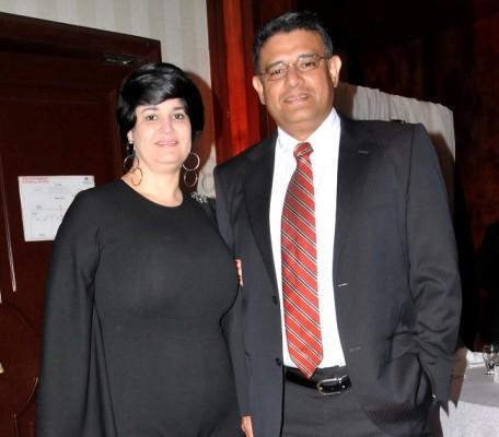Rafael Morales y Ángela Cahiza