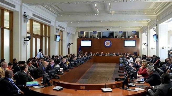 La OEA aprueba resolución que declara ilegítimo al nuevo gobierno de Nicolás Maduro