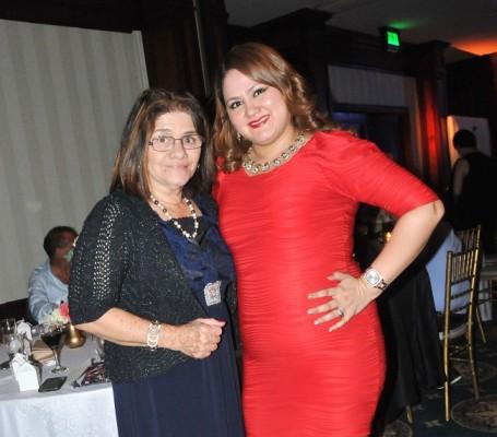 Rina Hernández y Sindy Mejía