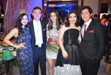 El mar y su encanto en la gala del Club Hondureño Árabe