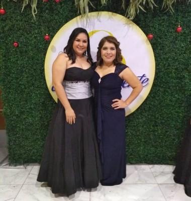 Sharon Ponce y Zoyla Núñez
