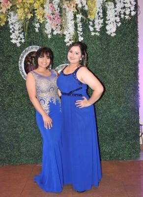 Sofía Lazo y Sandra Montero