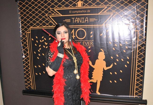 ¡Flashback a los años 20! En la fiesta de cumpleaños inspirada en el Gran Gatsby para Tania