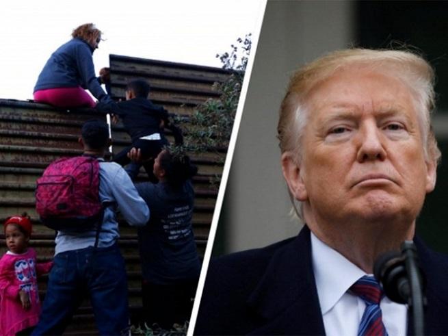 Trump amenaza con declarar emergencia nacional para ordenar la construcción de un muro