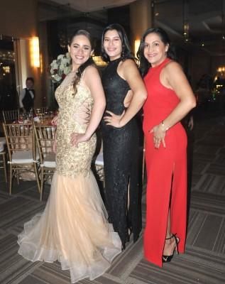 Zully Doblado, Alejandra Ramos y Roxana Argueta