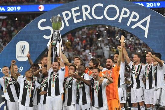 La Juventus conquista su octava Supercopa de Italia con un gol de Cristiano Ronaldo