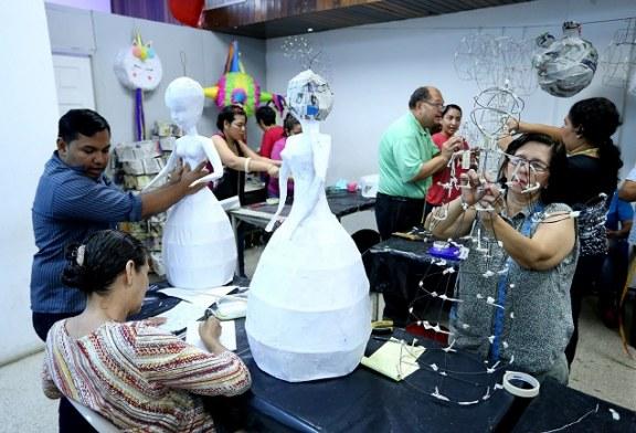 Municipalidad sampedrana brindará este año más de 100 talleres de manualidades