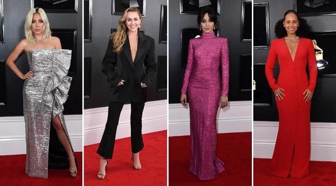 Los looks de la alfombra roja de los Grammy 2019, vestidos clásicos hasta los más excéntricos