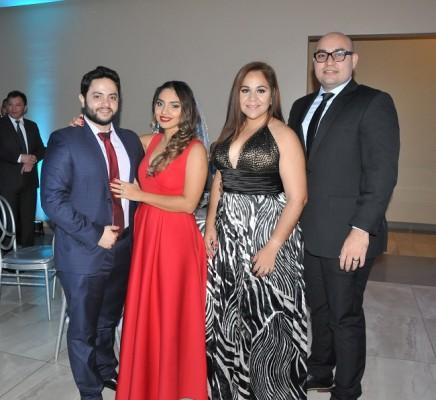 Allan Murillo, Tamar Rodríguez, Dulce de Cerna y José Cerna