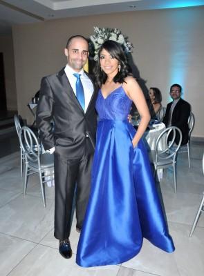 Aura Flores y Julio Monteagudo