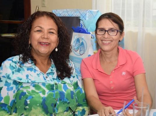 Chaila Villalta y Elsa Espinoza