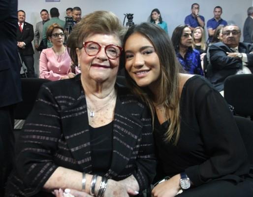 Dina Villeda y Rafaella Pastor
