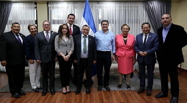 Diputados de Parlacen se comprometen a trabajar mas en seguridad, migración y empleo