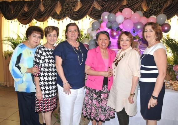 Elena de Asaf, Lizeth Nassar, Rita Simón, Sonia Reyes, Vilma Rosales y Rabab Handal