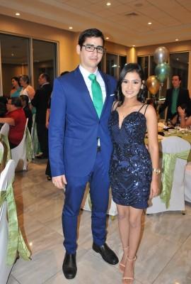 Gabriel Orellana y Daniela Rivera
