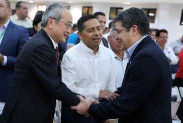 Japón reitera cooperación con la salud, educación y bienestar de los hondureños