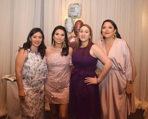 Jaqueline Casco, Elizabeth Hernández, Claudia Darden y Andrea Hernández