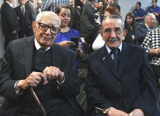 Jorge Bueso Arias y Enrique Aguilar