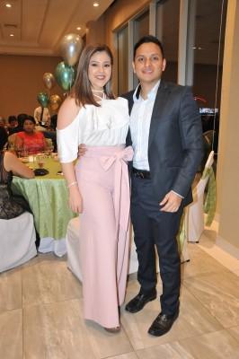 Juan Carlos Hernández y Suzette Fiallos