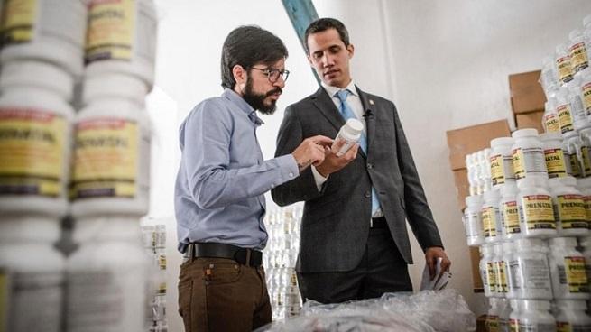 Juan Guaidó confirma que ya fue entregado el primer cargamento de ayuda humanitaria en Venezuela