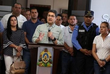 Hernández anuncia reunión con alcaldes del país para unir esfuerzos en seguridad