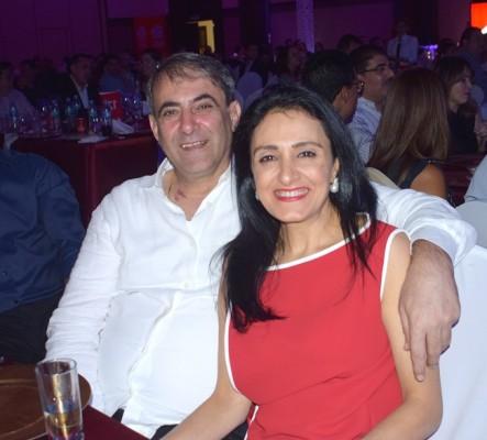 Karim y Hellen Qubain.