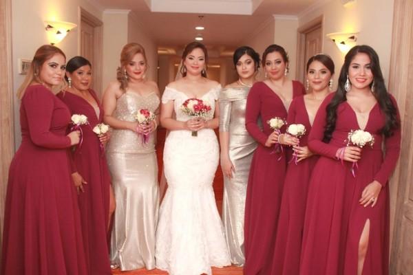 Keylee Madrid, Nelly Aguilar, Greisy Manzanares, Mayling Canales, Abigail López, Janire Lemus, Katherine Lara y Cinthia Madrid