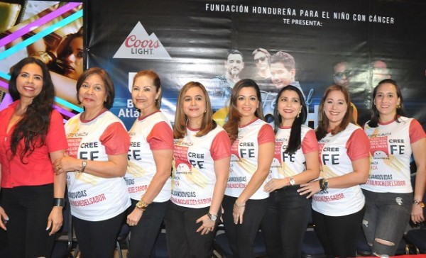 Las damas voluntarias de la Fundación Hondureña para el Niño con Cáncer