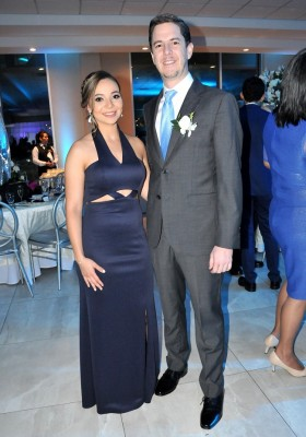 Los padrinos de boda, Guillermo Herrera y Ema Guevara