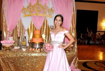 Una bella princesa en sus XV años