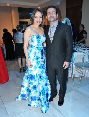Mario Torres y Brenda Tabora