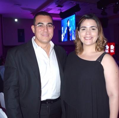 Mario Zaldaña y Sarah Zepeda
