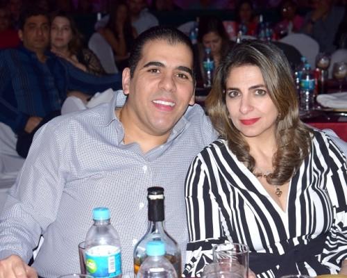 Mario y Leyla Faraj.
