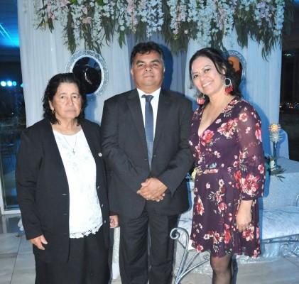 Martha López, Óscar Hernández y Martha Padilla