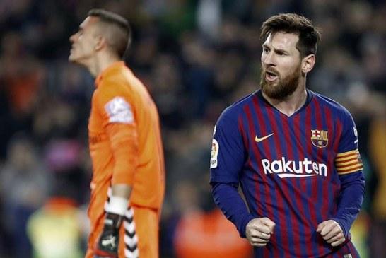 Messi salva a un Barcelona que no convence