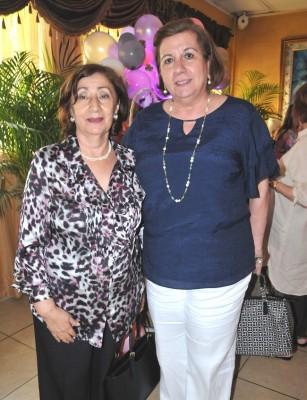 Miriam Castellón y Rita Simón