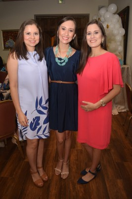 Nadia Peña, Linda Sanabria y Marely Fernández