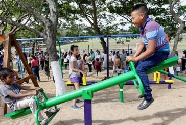 Yoreños ya disfrutan de su Parque para una Vida Mejor