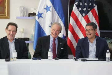 Delegación de senadores y congresistas estadounidenses verifican esfuerzos de Honduras en tema migratorio