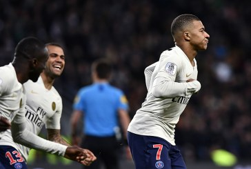 PSG guiado por Kylian Mbappé derrotó al Saint-Etienne y se aferra al primer lugar