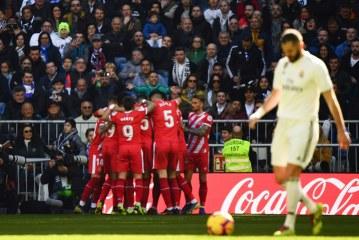 Real Madrid cayó 1-2 frente al Girona en el Bernabéu
