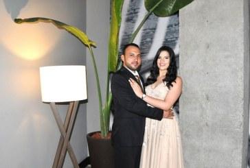 Alejandra y Sergio: protagonistas de un romántico enlace