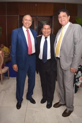 Alex Quan, Omar García y Arturo Barahona