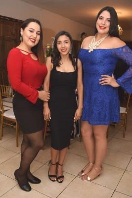 Ana Ruth Rodríguez, Jackeline Cálix y Dulce Rodríguez