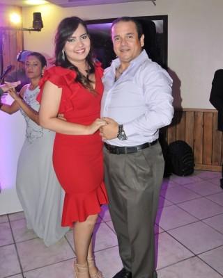 Andrea Aguilar y Edwin Pinto