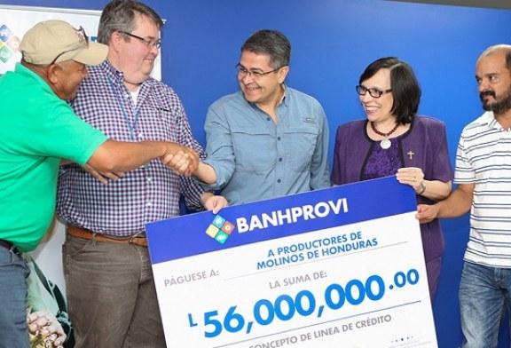 Banhprovi inaugura agencia en SPS con crédito de 56 millones de lempiras para cafetaleros